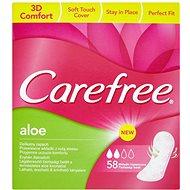 CAREFREE Aloe 58 ks - Dámske vložky