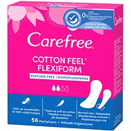 CAREFREE Cotton Flexiform (S/M) 56 ks - Slipové vložky