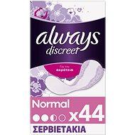 ALWAYS Discreet Liner Normal 44 ks - Inkontinenčné vložky