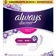 ALWAYS Discreet Liner Long 60 ks - Inkontinenčné vložky