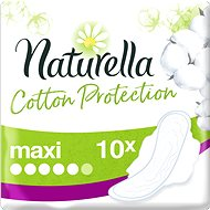 NATURELLA Cotton Protection Ultra Maxi 10 Pcs - Sanitary Pads