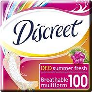 DISCREET Multiform Summer Fresh 100 Ks - Slipové vložky