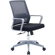HAWAJ C9221B čierno-sivá - Kancelárska stolička