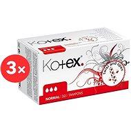 KOTEX Normal 3× 32 ks - Tampóny