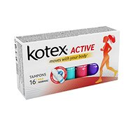 KOTEX Tampons Active 16 Normal - Tampóny