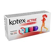 KOTEX Tampons Active 16 Super - Tampóny