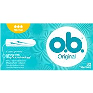 O.B. Original Normal Tampons 32 ks - Tampóny