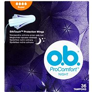 O.B. ProComfort Night Super Tampons 36 ks - Tampóny
