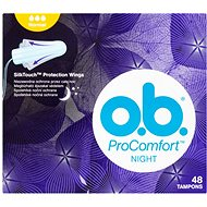 O.B. ProComfort Night Normal Tampons 48 ks - Tampóny