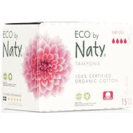 NATY ECO Super Plus 15 ks - Tampóny