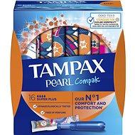 TAMPAX Pearl Compak Super Plus 16 pcs - Tampons