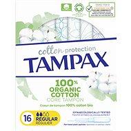 TAMPAX Cotton Protection Regular 16 pcs - Tampons