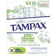 TAMPAX Cotton Protection Super 16 pcs - Tampons