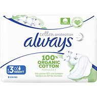 ALWAYS Cotton Protection Ultra Night 9 pcs - Sanitary Pads