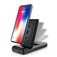 HyperDrive USB-C Hub + 7,5 W Wireless Charger - Dokovacia stanica