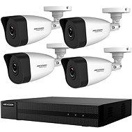HikVision HiWatch HWK-N4142BH-MH, KIT, 2MP, rekordér + 4 kamery, 4ch, 1 TB HDD - Kamerový systém