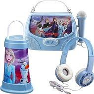 Frozen II Sada – slúchadlá, svietidlo, karaoke box - Herná sada