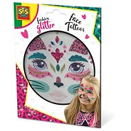 SES Trblietavé tetovanie na tvár – mačka - Kreatívna súprava