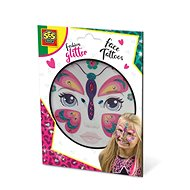 SES Trblietavé tetovanie na tvár – motýľ - Kreatívna súprava
