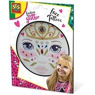 SES Trblietavé tetovanie na tvár – princezná - Dočasné tetovanie