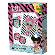 SES L.O.L. – vyfarbovanie obrázkov trblietkami - Maľovanie pre deti
