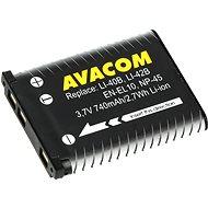 AVACOM za Olympus Li-40B, Li-42B Li-ion 3.7V 740mAh 2.7Wh AVA - Náhradná batéria