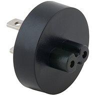 AVACOM Zásuvkový konektor Type A (US) pro USB-C nabíječky, černá - Cestovný adaptér