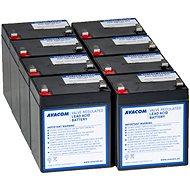AVACOM náhrada pre RBC43 – batéria pre UPS (8ks) - Batéria kit