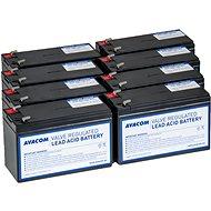 AVACOM bateriový kit pre renováciu RBC105 (8ks batérií) - Batéria kit