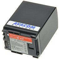 AVACOM za Canon BP-807, BP-809, BP-819, BP-827 Li-ion 7,4 V, 2 580 mAh, 19,8 Wh, verzia 2011 - Náhradná batéria