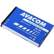 AVACOM za Nokia 6230, N70, Li-ion 3,7V 1 100m Ah (náhrada BL-5C) - Náhradná batéria