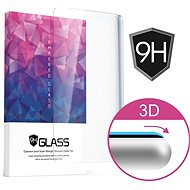Icheckey 3D Curved Tempered Glass Screen Protector Black pre Huawei P9 - Ochranné sklo