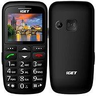 iGET Simple D7 čierna - Mobilný telefón