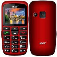 iGET Simple D7 červená - Mobilný telefón