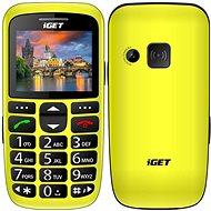 iGET Simple D7 žltý - Mobilný telefón