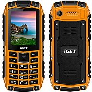 iGET Defender D10 oranžová - Mobilný telefón