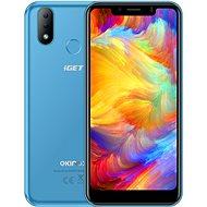 iGET Ekinox E6 modrý - Mobilný telefón