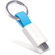 inCharge Micro USB Cyan, 0.08m