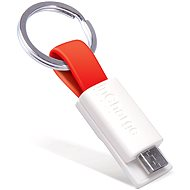 inCharge Micro USB Red, 0.08m