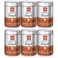 Zrnková káva 250 g BRAZIL 6 PACK - Káva