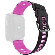 IMMAX pre hodinky SW9, čierno-ružový - Remienok