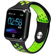 IMMAX SW10 čierno-zelené - Smart hodinky