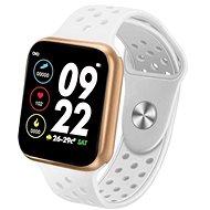IMMAX SW13 PRO bielo-zlaté - Smart hodinky