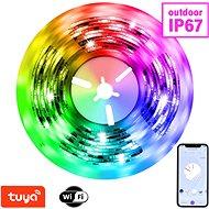 LED pásik Immax NEO LITE Smart pásik LED 5 m, RGB, CCT, farebný, stmievateľný, Wi-Fi IP67, outdoor