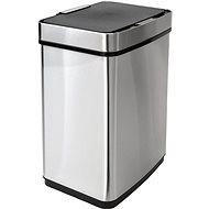iQ-Tech Luxe Quadrat 50 l, strieborný - Odpadkový kôš