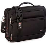 """i-Stay 15.6"""" & up to 12"""" Clamshell laptop/tablet bag Black - Taška na notebook"""