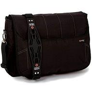 """i-Stay Black 15.6"""" & Up to 12"""" Laptop/Tablet Messenger Bag - Taška na notebook"""