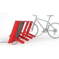 Urbania nabíjecí stojan pre 4 elektrobicykle - Dobíjacia stanica