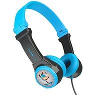 JLAB JBuddies Folding Kids Headphones Blue/Grey - Slúchadlá