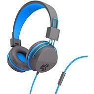 JLAB JBuddies Studio Over-Ear Folding Kids Headphones Grey/Blue - Slúchadlá